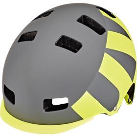 UVEX Helmet 5 Bike Pro, gray-lime mat